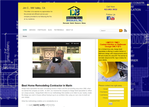 Design Build Specialists website